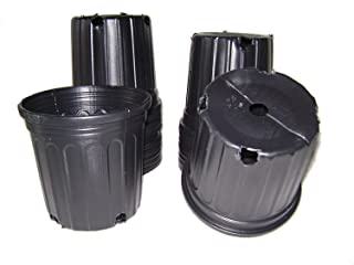 55 NEW Plastic Nursery 3 Gallon Trade POT ~ Actual Volume: 2.296 Gallons