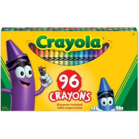 Binney & Smith 809301918874 Crayola(R) Standard Crayon Set, Big Box of 96 Toy