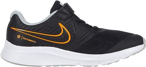Black/Total Orange/White/Light Smoke Grey