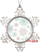 Seamless Floral Pattern Cute Christmas Ornaments,Christmas Tree Decoration Ornaments,Christmas Keepsake 2020 Xmas Gifts fo...