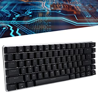 Keyboard, Gaming Keyboard RGB Light Professional for Laptop(Green axis)