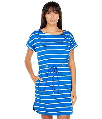 Tommy Bahama Sombra Stripe Short Dress Short Sleeve