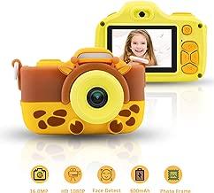 Kids Camera for Girls 16.0MP 1080P HD Shockproof Cameras Mini Child Camcorder for Little Girl 2.0