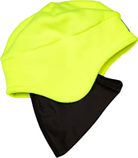 ★MÜTZE Ski Beanie Winter Snowboard HipHop Cap Cappy Damen Herren schwarz gelb 1A