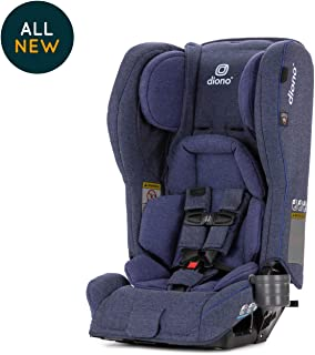 Diono Rainier 2AXT All-in-One Convertible Car Seat, Blue