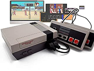 Classic NES Video Game Cnsole with Built-in 600+ Games