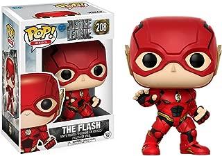 The Flash: Justice League x Funko POP! Heroes Vinyl Figure & 1 PET Plastic Graphical Protector Bundle [#208 / 13488 - B]