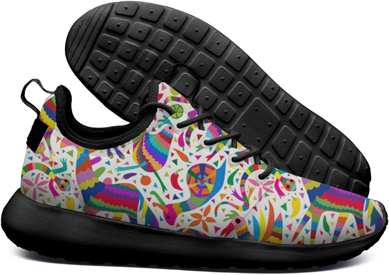 fa7258c95a622 Rainbow Holiday Party Art Women's Lightweight Mesh Running Sneakers ...