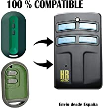 Mando duplicador HR Matic 2 Rolling Code, Compatible FORSA TP-2 TP 2 TP2 TP-4 TP4 TP2 Mini 868MHz (A1T2) RT1 RT2 RT4 RT-1 RT-3 RT 2 4 Twin