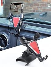 Savadicar JL & JT Dash Phone Mount Cell Phone Holder for 2018-2021 Jeep Wrangler JL JLU & Jeep Gladiator JT Truck, Interior Accessories, Black