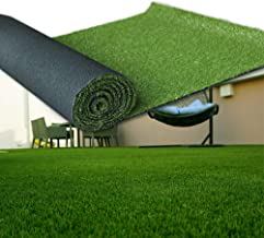 LITA Artificial Grass 8' x 24' (192 Square Feet) Realistic Fake Grass Deluxe Turf Synthetic Turf Thick Lawn Pet Turf -Perfect for Indoor/Outdoor Landscape (20mm high Pile) Customized