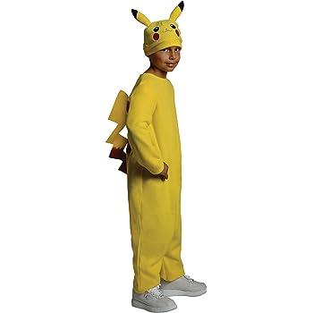 Generique - Disfraz de Pikachu Pokémon niño 3-4 años (98-104 cm ...