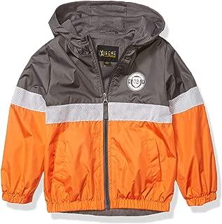 iXtreme Boys' Colorblock Windbreaker Jacket with Mesh Lining