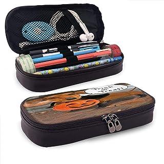 Divertente astuccio in pelle bassotto con portapenne, organizer per matite, cosmetici, auricolari Bluetooth, accessori per...