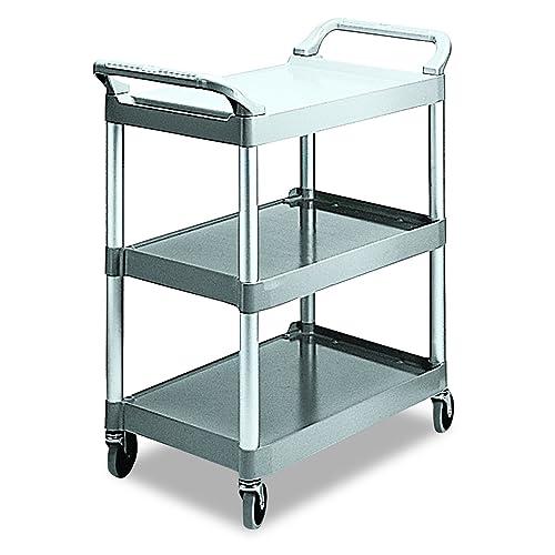 Rubbermaid Utility Cart 3 Shelf: Amazon com