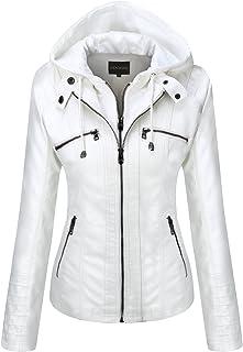 2e9f0097e Amazon.com: Whites - Leather & Faux Leather / Coats, Jackets & Vests ...