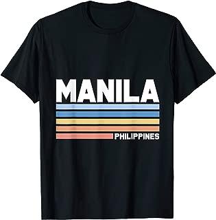 Manila Filipino Filipina Philippines T-Shirt