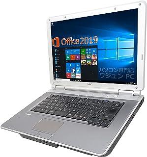 NEC ノートPC VD-F/15.6型フルHD/MS Office 2019/Win 10/Core i5-3320M/wajunのWIFI/HDMI/DVD-RW/4GB/128GB SSD (整備済み品)