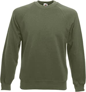 Fruit of the Loom Mens Raglan Classic Sweater