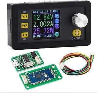 Wireless Voltage Regulator, DROK DC 6-55V to 0-50V Numerical Control Buck Converter 5A 250W Computer Remote Monitor USB Co...