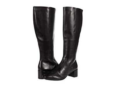 ECCO Shape 35 Squared Tall Boot (Black) Women