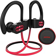 Mpow Flame [Upgraded] Bluetooth Headphones with Case, Bassup Technology HiFi Stereo in-Ear Wireless Earbuds, Waterproof IP...