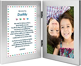 Poetry Gifts Daddy Gift from Twins, or Children for His Birthday or Christmas, Add Photo
