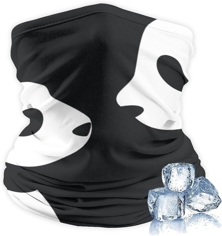 Headband Bandana Head Wrap Scarf Neck Ice Silk Headwear Balaclava for Sports