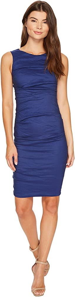 Nicole Miller - Lauren Cotton Metal Sheath