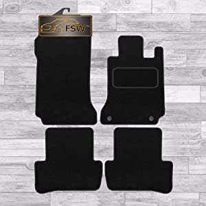 FSW Class 2007-2014 Auto Fully Tailored Classic Carpet Car Floor Mats Black