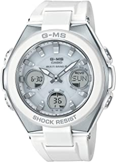 [カシオ] 腕時計 ベビージー G-MS 電波ソーラー MSG-W100-7AJF レディース ホワイト