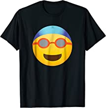 Two-Sided Swim Emoticon Eat My Bubbles Swimming T-Shirt