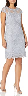 Emma Street Women's Cap Sleeve Lace Dress