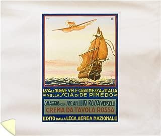 Crema da Tavola Rossa Vintage Poster (Artist: Cavigiol) Italy 59345 (88x104 King Microfiber Duvet Cover)