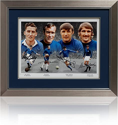 Chelsea FC Legends signé PP468 main (montage)