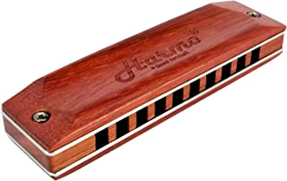 Harmonica HARMO CUSTOM SHOP Maple Wood key of C Assembled in USA