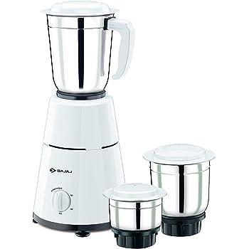 Bajaj GX-1 Mixer Grinder, 500W, 3 Jars