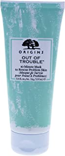 ORIGINS Out of Trouble 10 Minute Mask to Rescue Skin Problem, 3.4 Fluid Ounce