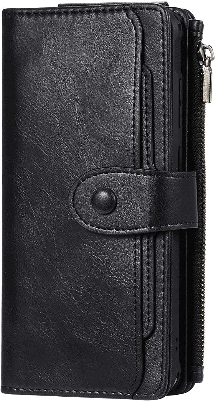 RuiJinHao Samsung Galaxy San Antonio Mall Note 9 Kansas City Mall Extra-Sh Flip Leather Cover Case