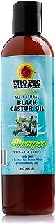 Tropic Isle Living Jamaican Black Castor Oil Shampoo with Shea Butter-8oz