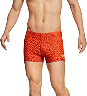Speedo Men's Reef Ready Square Leg Speedo Orange M