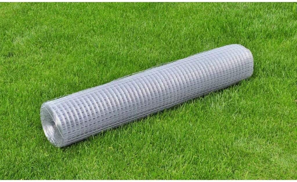 Astede Galvanised Steel Chicken Wire Fence Inches 3ft 8 32 Alternative dealer 3 Ft Large discharge sale