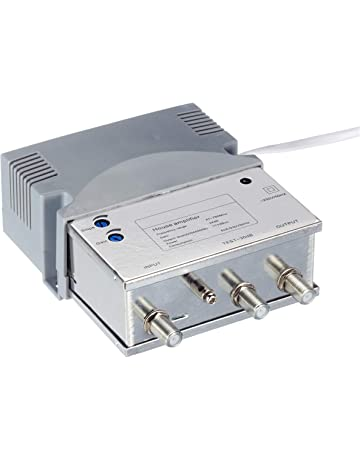 Amplificadores de señal para equipos por satélite | Amazon.es