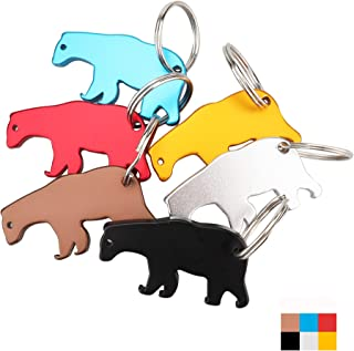 bear bottle opener keychain