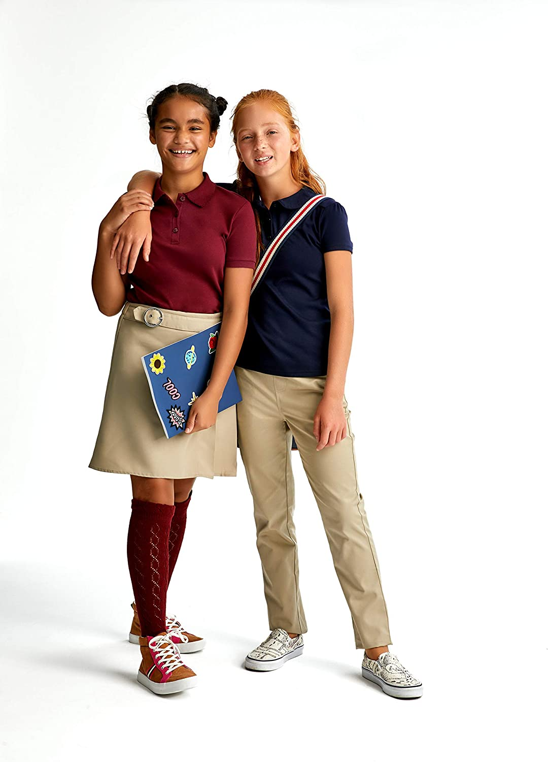 French Toast Girls Pull-On Twill Pant