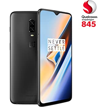 OnePlus 6T - Smartphone 8GB+128GB, color negro (midnight black ...