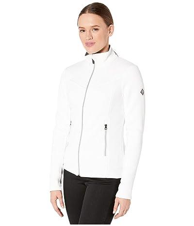 Spyder Encore Full Zip Fleece Jacket (White) Women