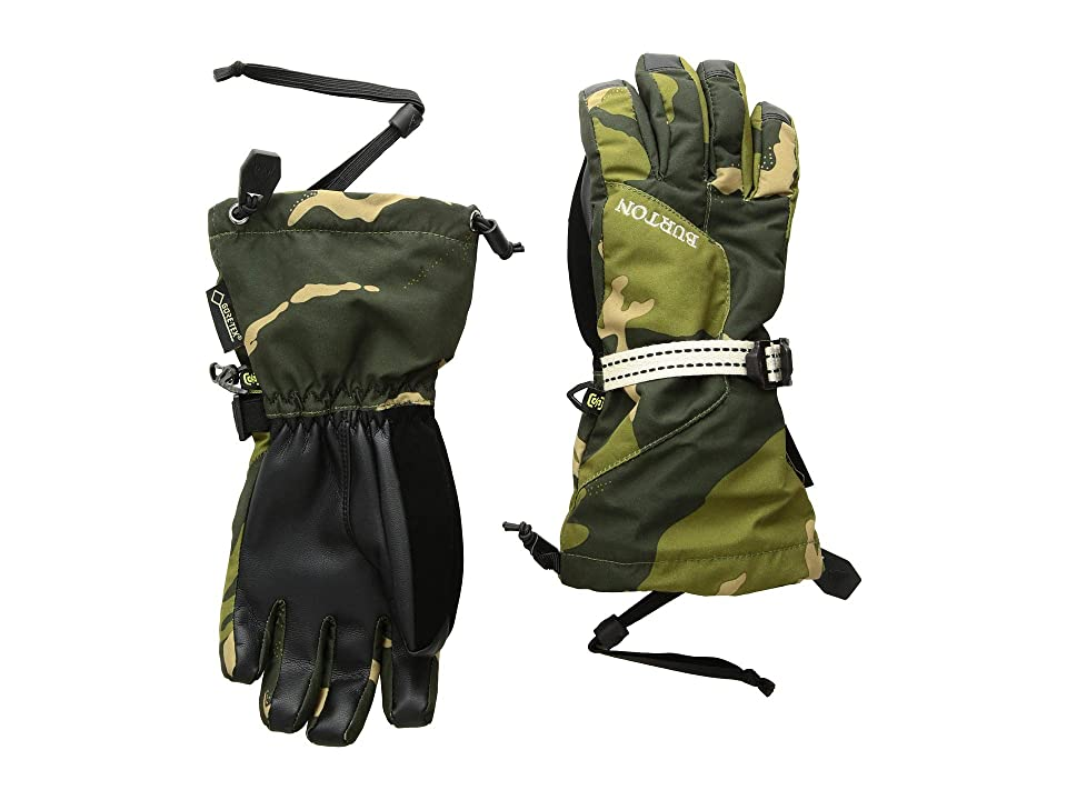 Burton Kids Gore-Tex(r) Gloves (Little Kids/Big Kids) (Mountain Camo) Snowboard Gloves