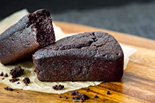 Oh My Goodness! Golly Signature Dark Chocolate Cake, Individually Packed Slice, 80 g - Frozen