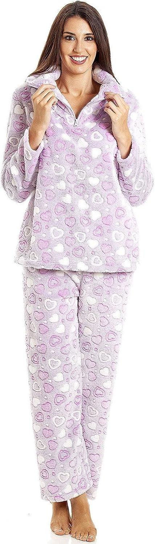 Camille Conjunto de Pijama de corazón para Mujer